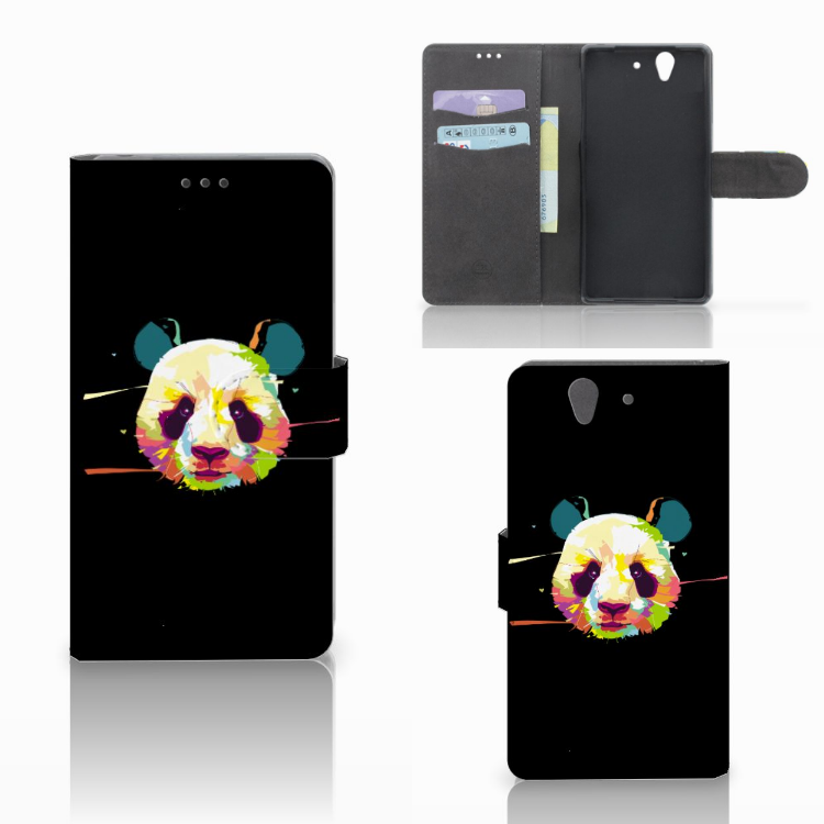 Sony Xperia Z Leuke Hoesje Panda Color