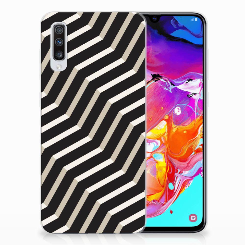 Samsung Galaxy A70 TPU Hoesje Illusion