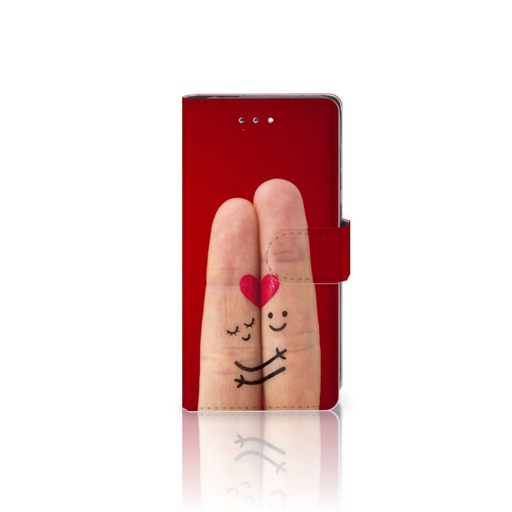 Huawei P9 Uniek Boekhoesje Liefde