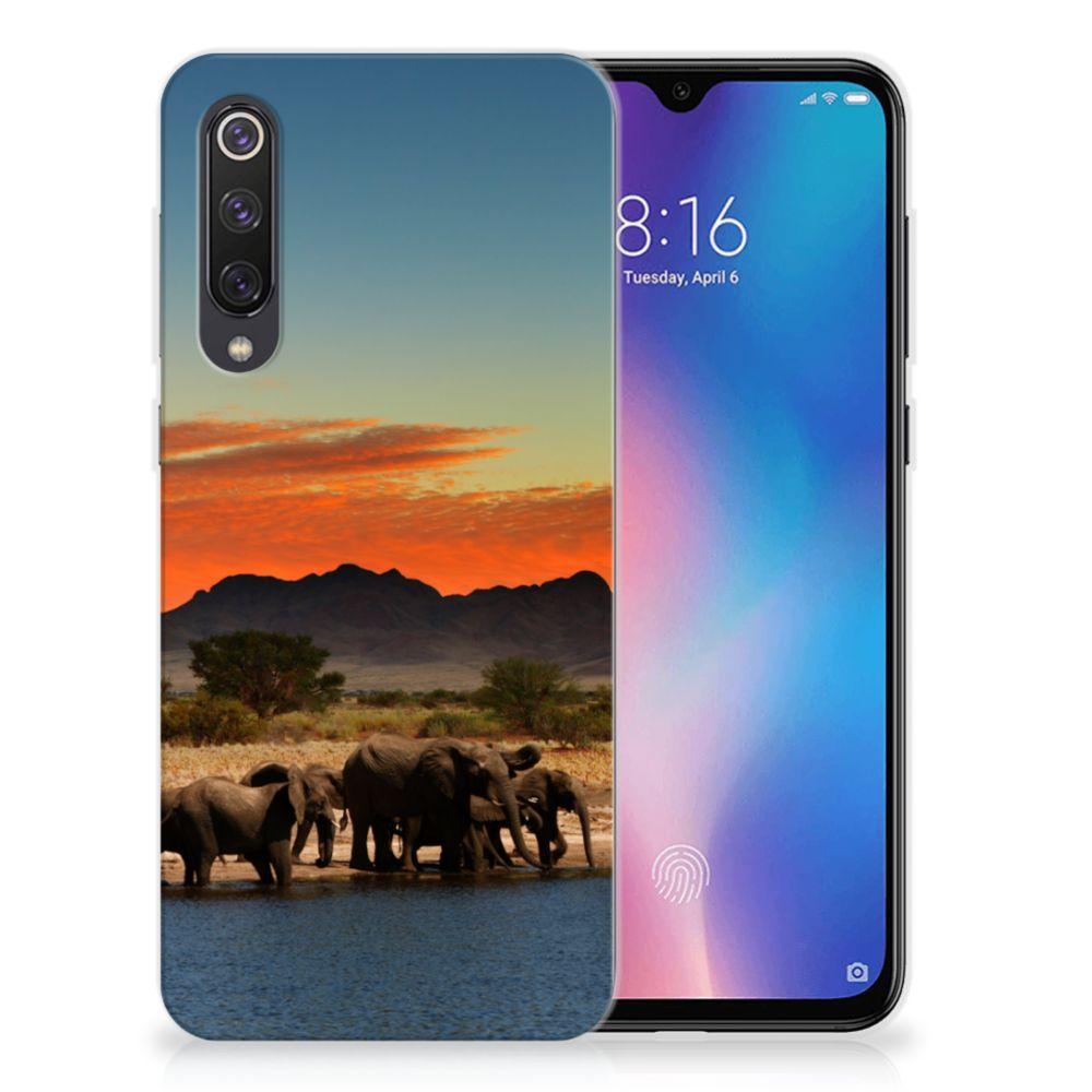 Xiaomi Mi 9 SE TPU Hoesje Olifanten