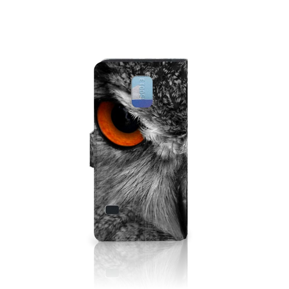 Samsung Galaxy S5   S5 Neo Telefoonhoesje met Pasjes Uil