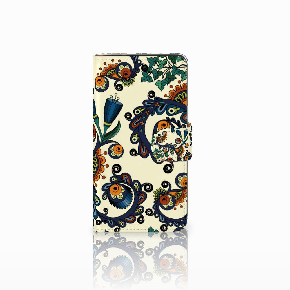 Samsung Galaxy J2 (2015) Boekhoesje Design Barok Flower