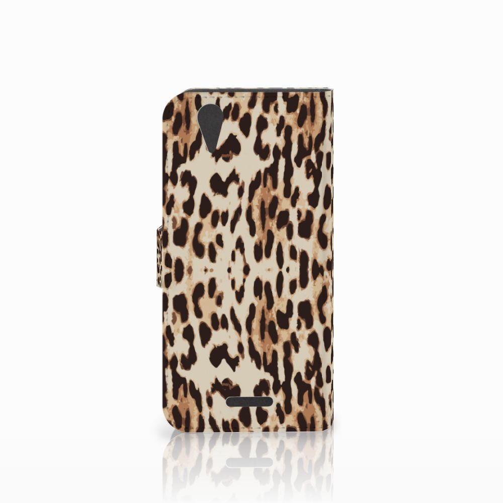 Acer Liquid Z630   Z630s Telefoonhoesje met Pasjes Leopard