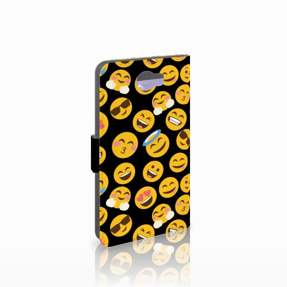 Huawei Y5 2 | Y6 II Compact Boekhoesje Design Emoji