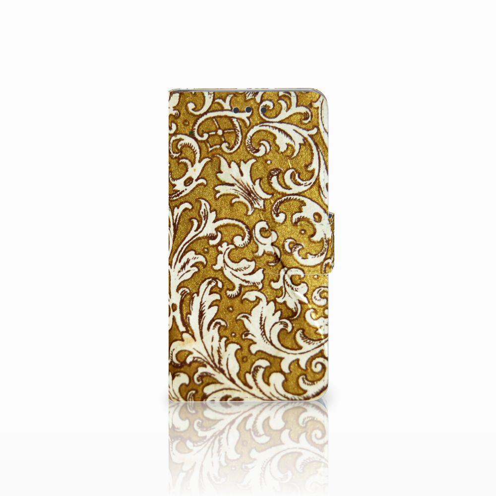HTC U Play Boekhoesje Design Barok Goud