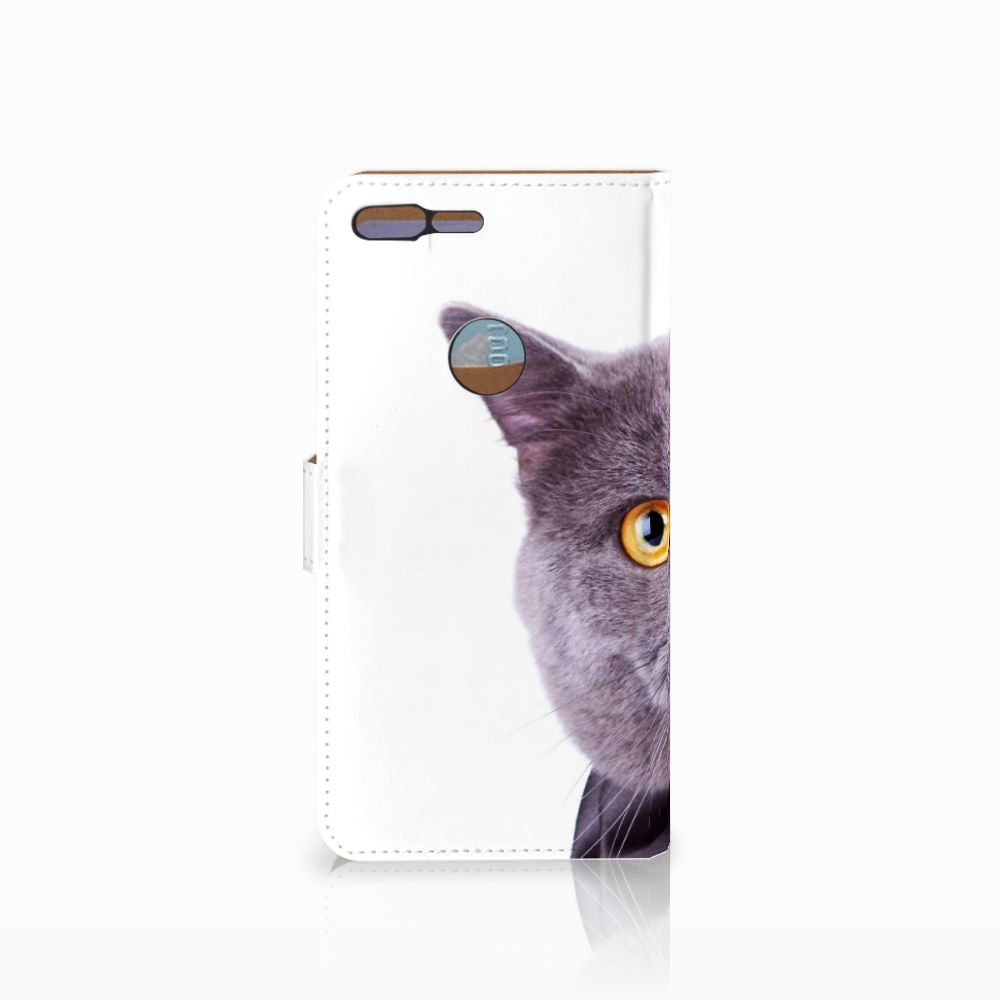 Google Pixel XL Telefoonhoesje met Pasjes Kat