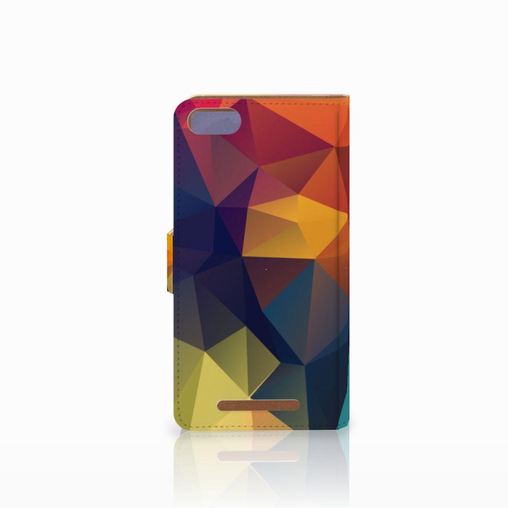 Wiko Lenny 3 Bookcase Polygon Color
