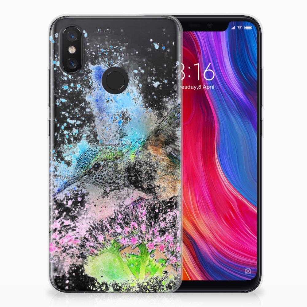 Xiaomi Mi 8 TPU Hoesje Design Vogel