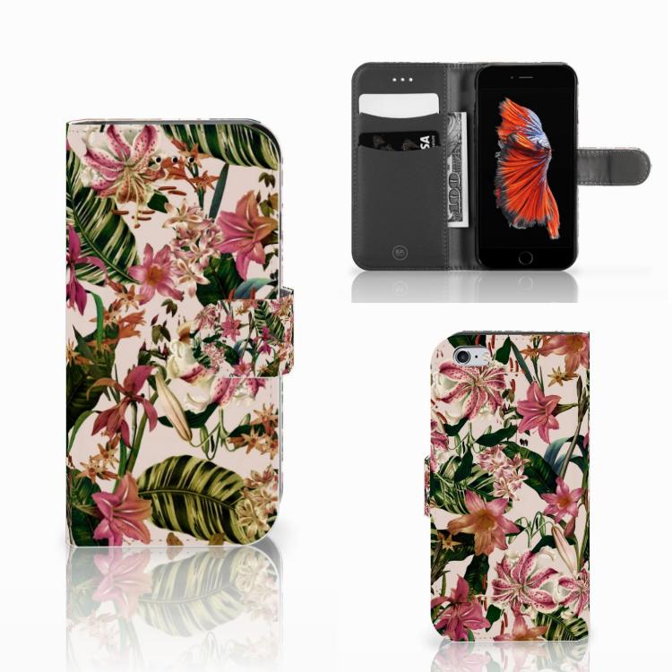 Apple iPhone 6 | 6s Hoesje Flowers