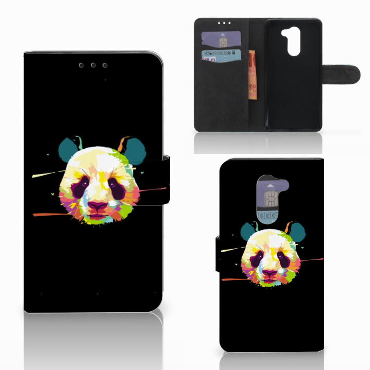 Huawei Honor 6X Leuke Hoesje Panda Color