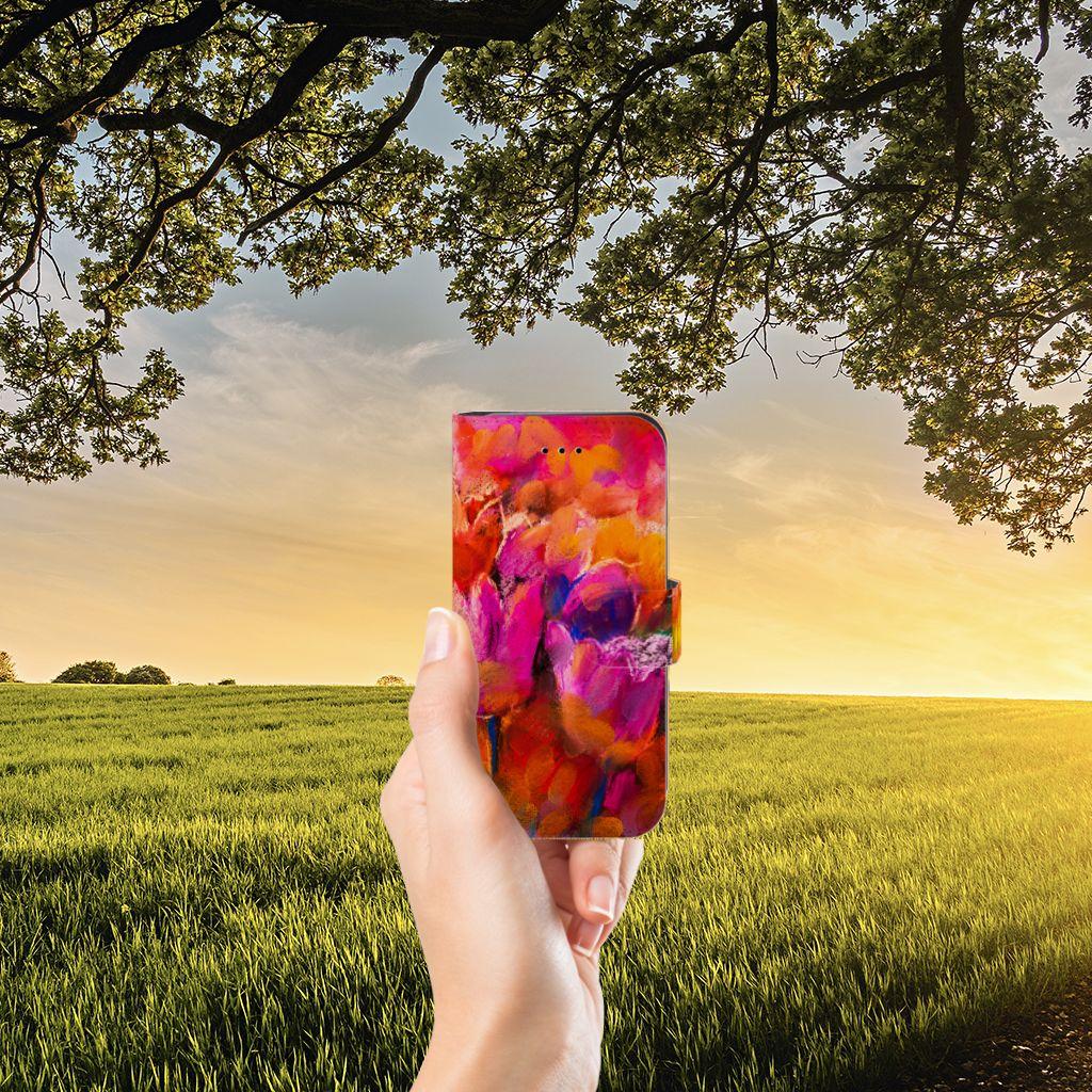 Hoesje iPhone 7 | 8 | SE (2020) Tulips