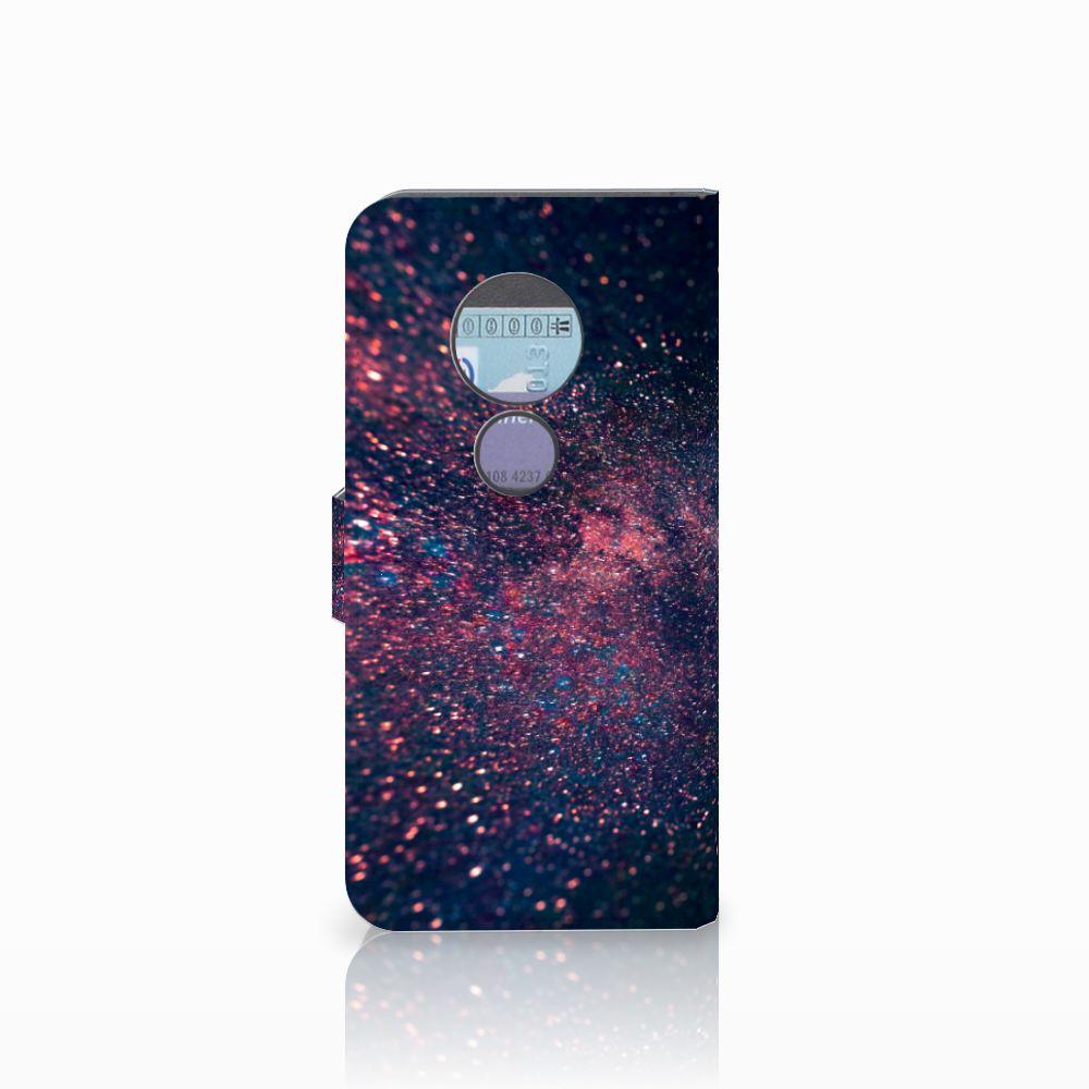 Motorola Moto G6 Play Bookcase Stars