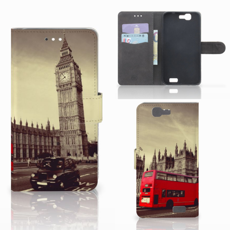 Huawei Ascend G7 Flip Cover Londen
