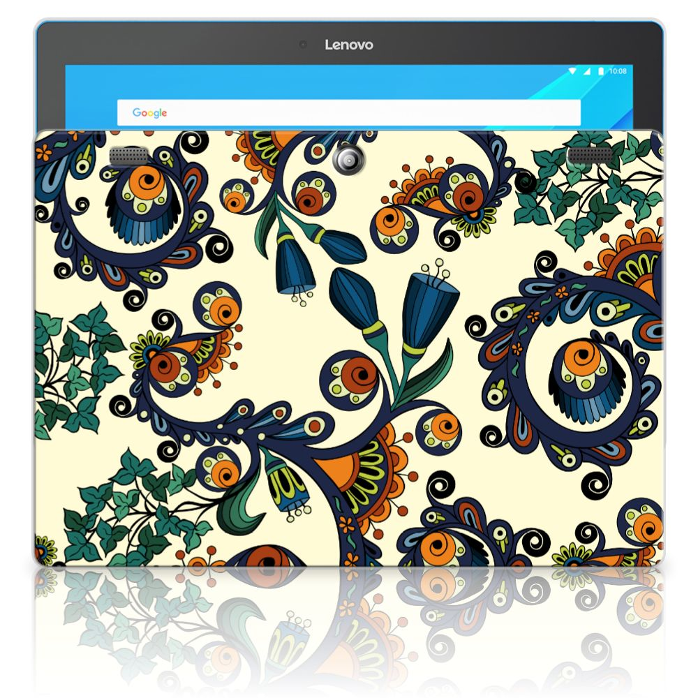 Lenovo Tab 10 | Tab 2 A10-30 Tablethoesje Design Barok Flower