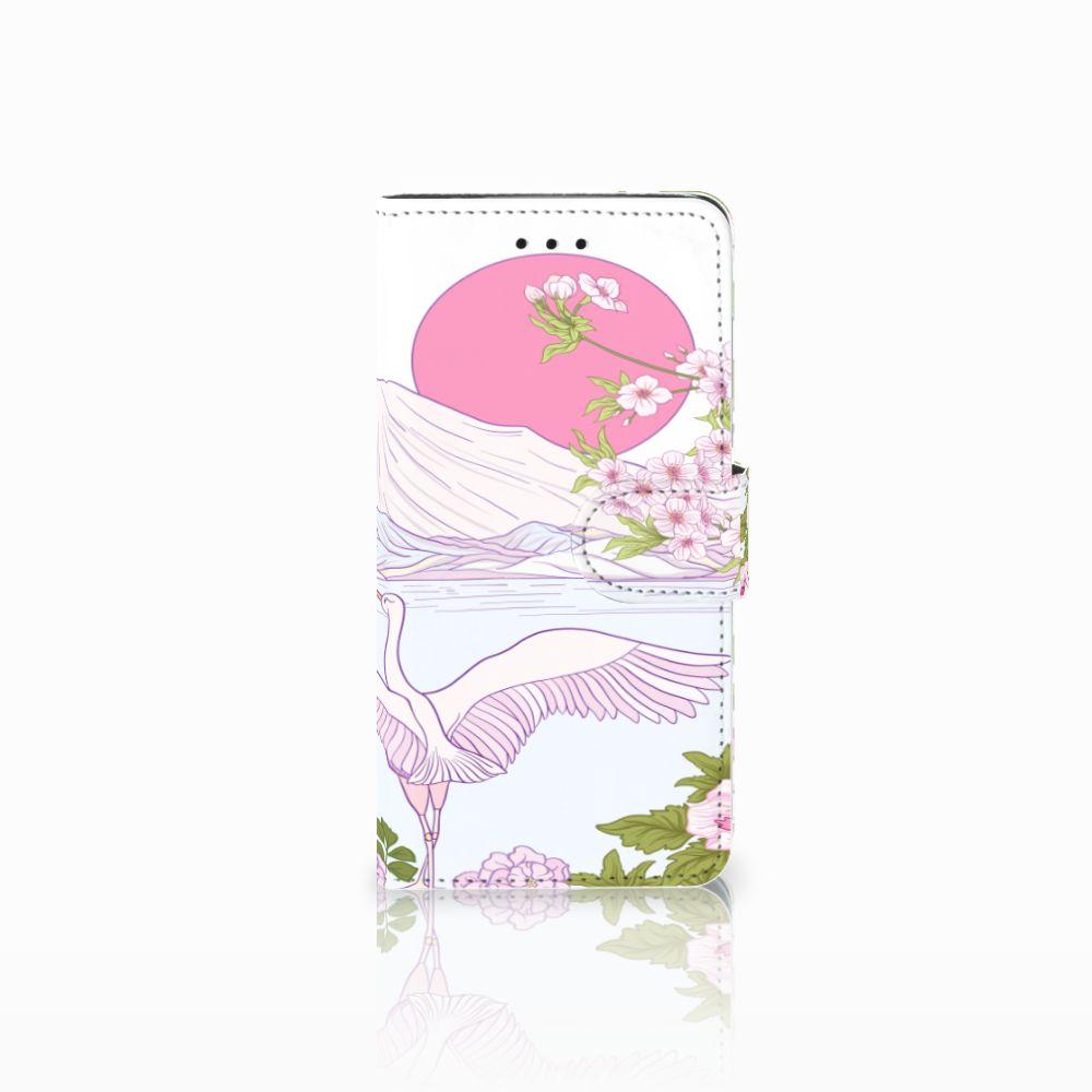 Huawei Y5 2018 Telefoonhoesje met Pasjes Bird Standing
