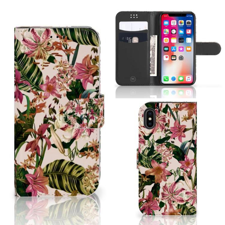 Apple iPhone X | Xs Hoesje Flowers