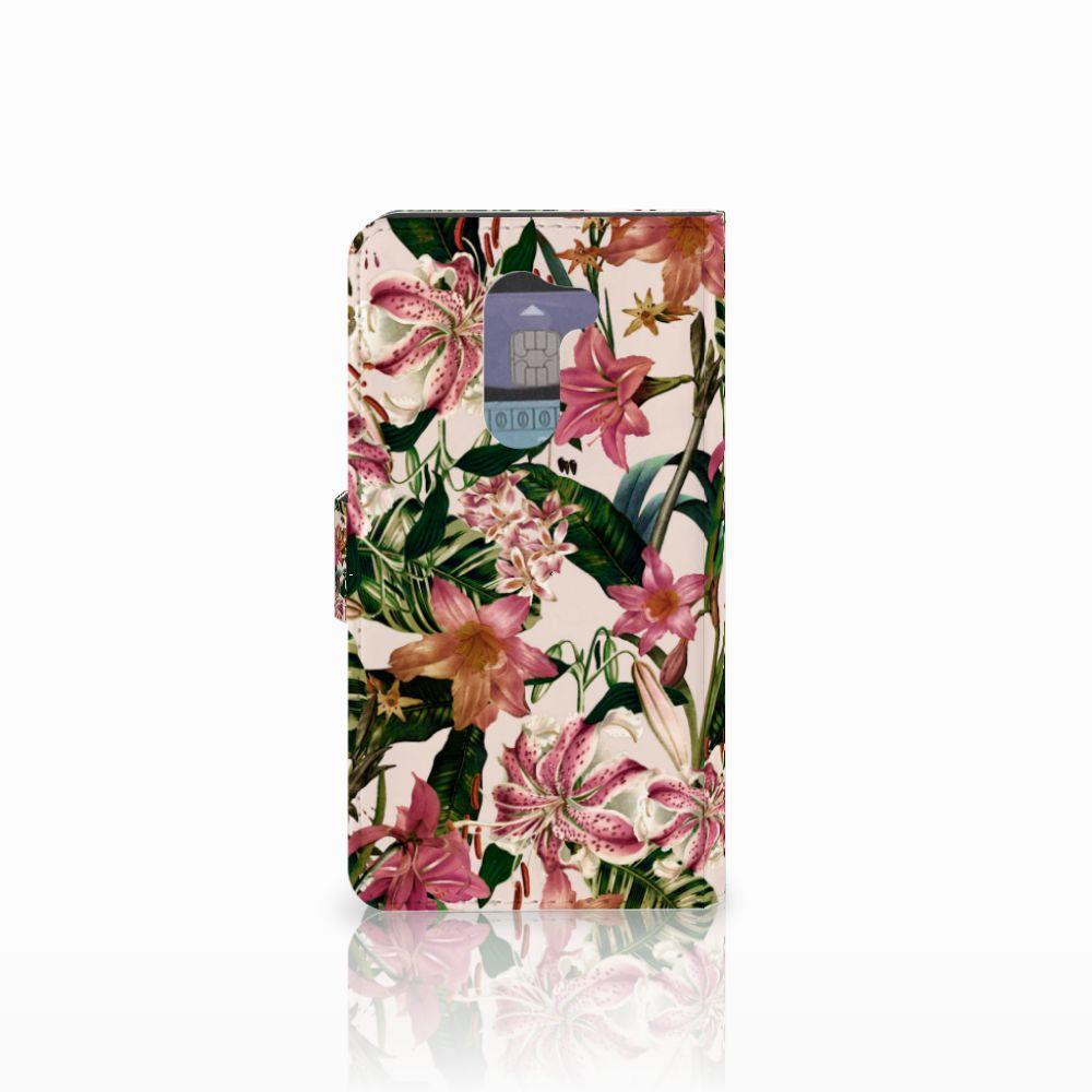 Huawei Honor 6X Hoesje Flowers