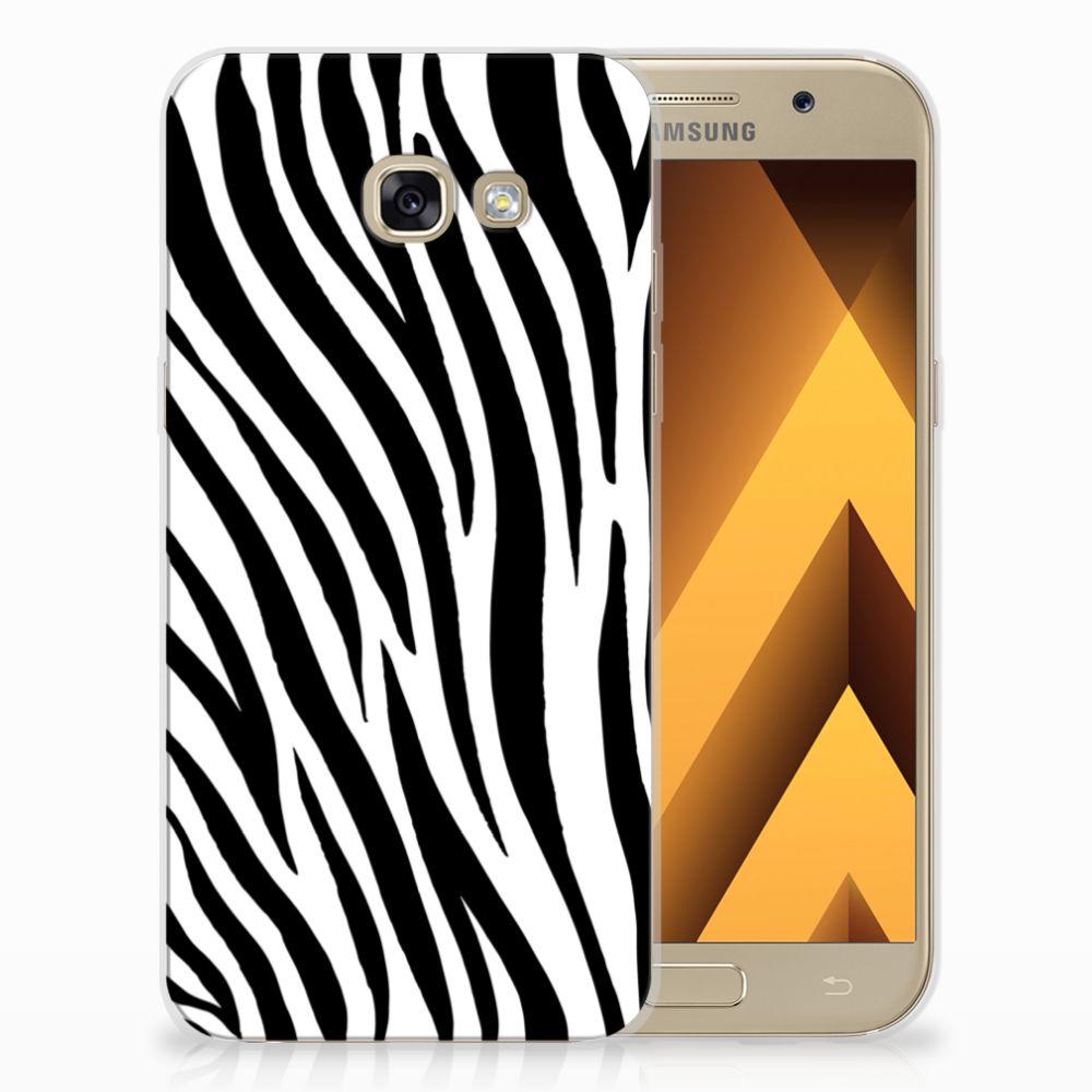Samsung Galaxy A5 2017 TPU Hoesje Design Zebra