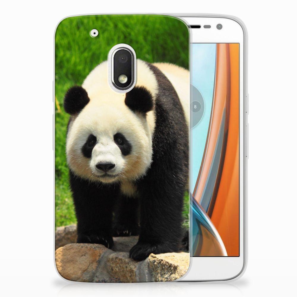 Motorola Moto G4 Play TPU Hoesje Design Panda