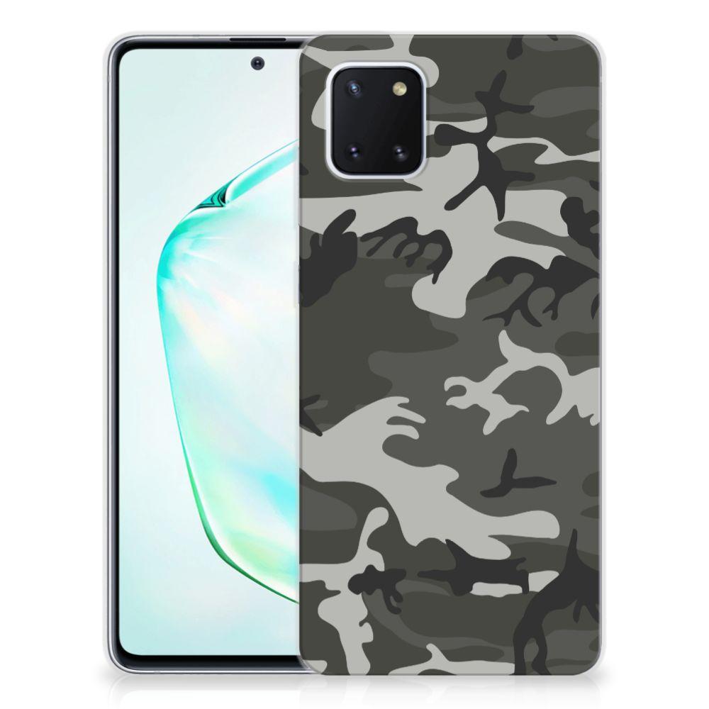 Samsung Galaxy Note 10 Lite TPU bumper Army Light