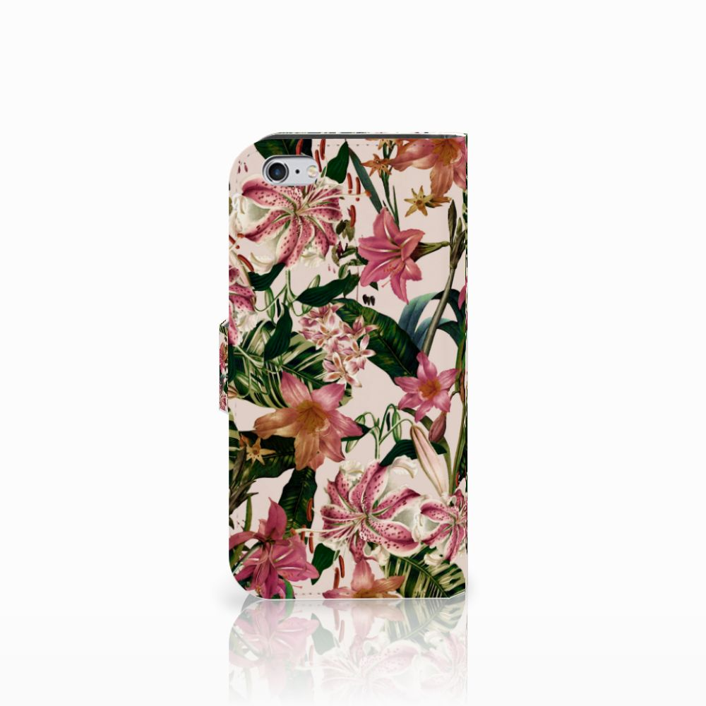 Apple iPhone 6 | 6s Hoesje Flowers
