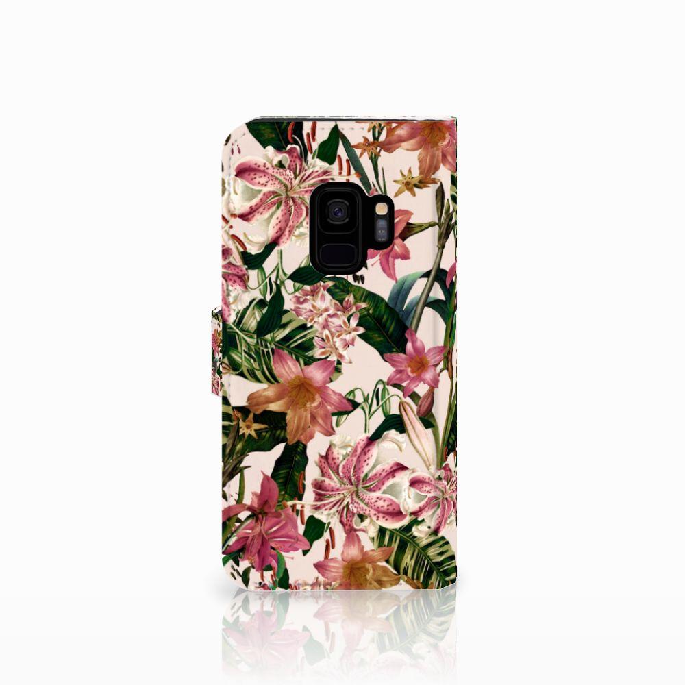 Samsung Galaxy S9 Hoesje Flowers