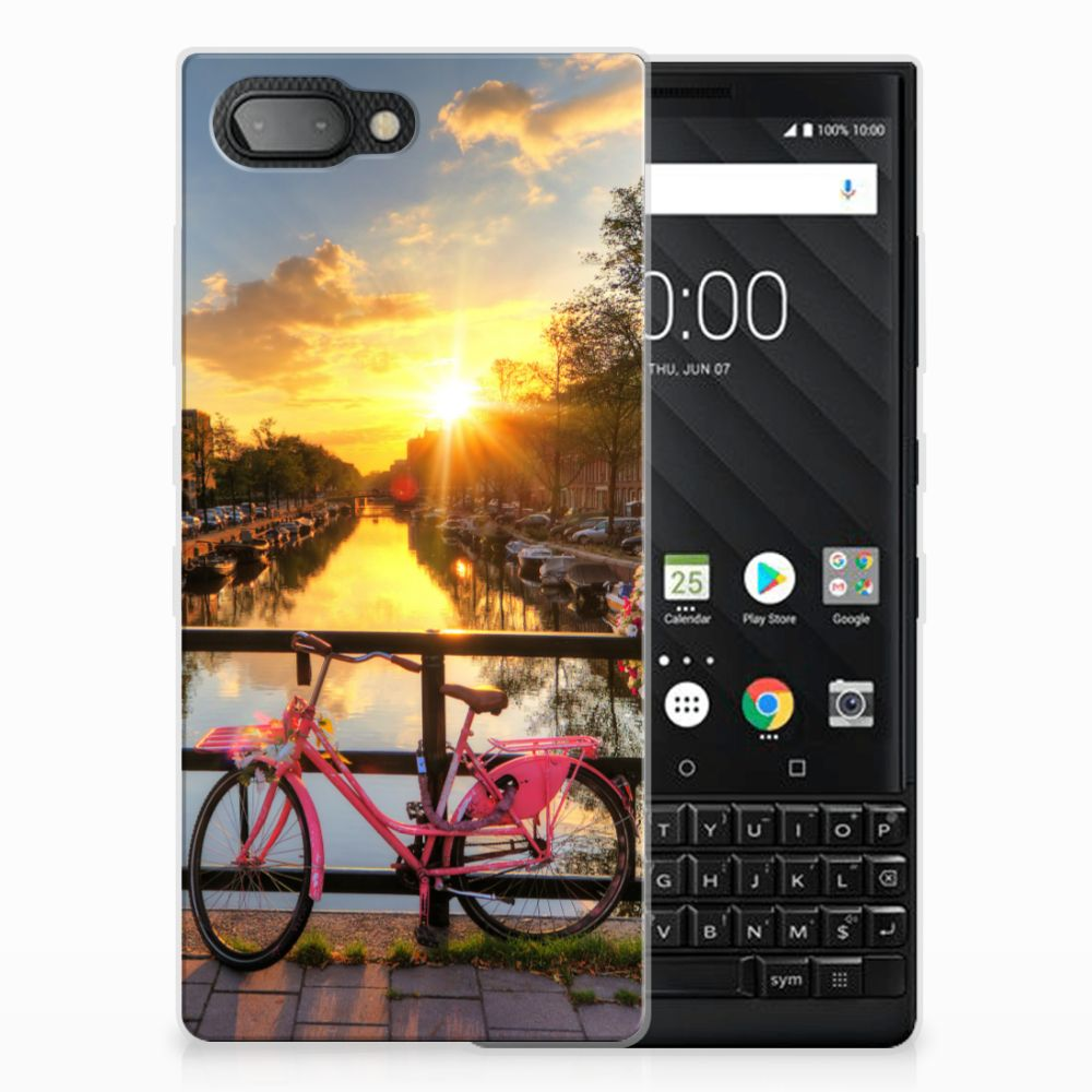BlackBerry Key2 Uniek TPU Hoesje Amsterdamse Grachten