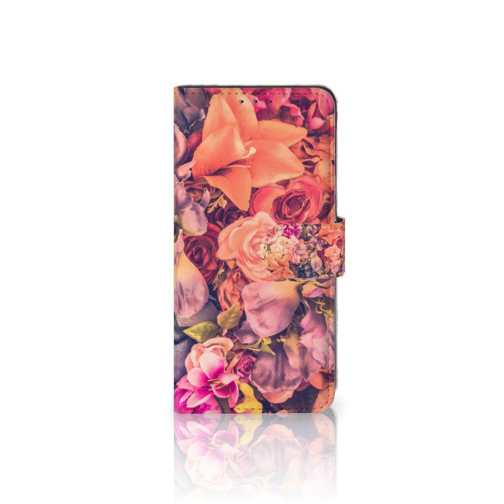LG V40 Thinq Boekhoesje Design Bosje Bloemen