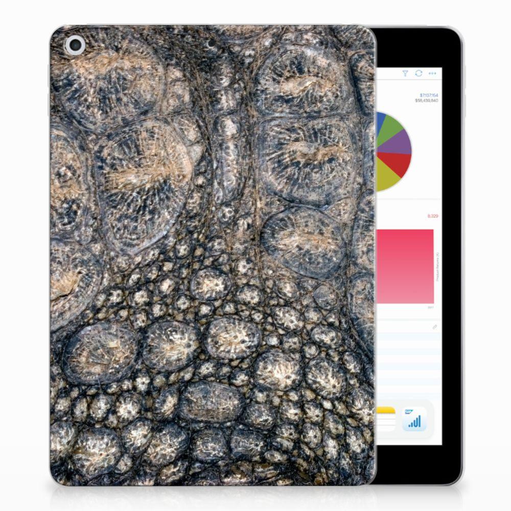 Apple iPad 9.7 2018   2017 Back Case Krokodillenprint