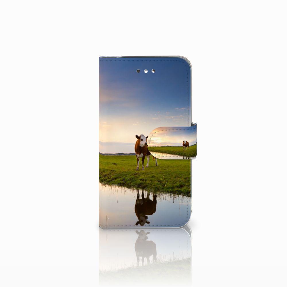 Samsung Galaxy S4 Boekhoesje Design Koe
