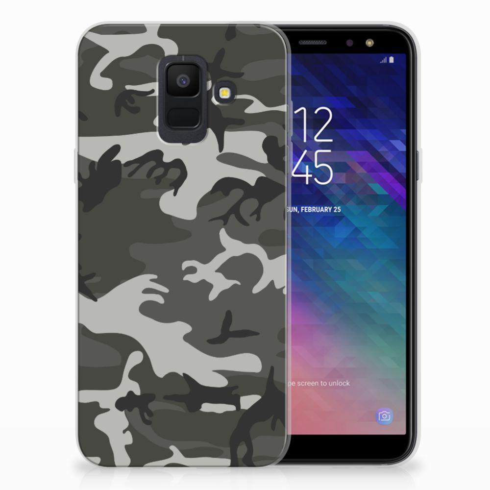 Samsung Galaxy�A6 (2018) Uniek TPU Hoesje Army