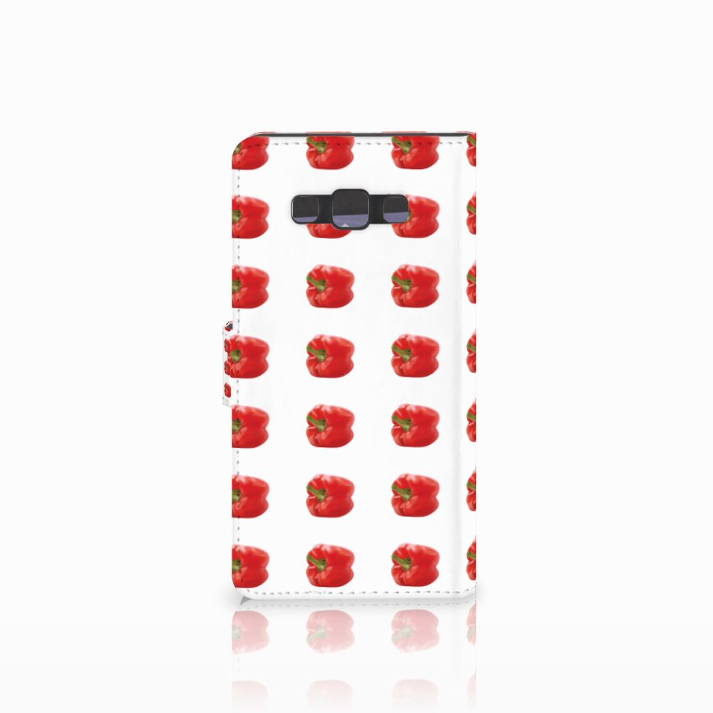 Samsung Galaxy A7 2015 Book Cover Paprika Red