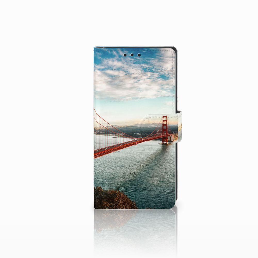 Sony Xperia XA1 Boekhoesje Design Golden Gate Bridge