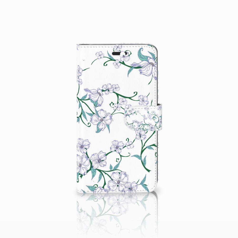 Huawei Y6 II | Honor 5A Uniek Boekhoesje Blossom White