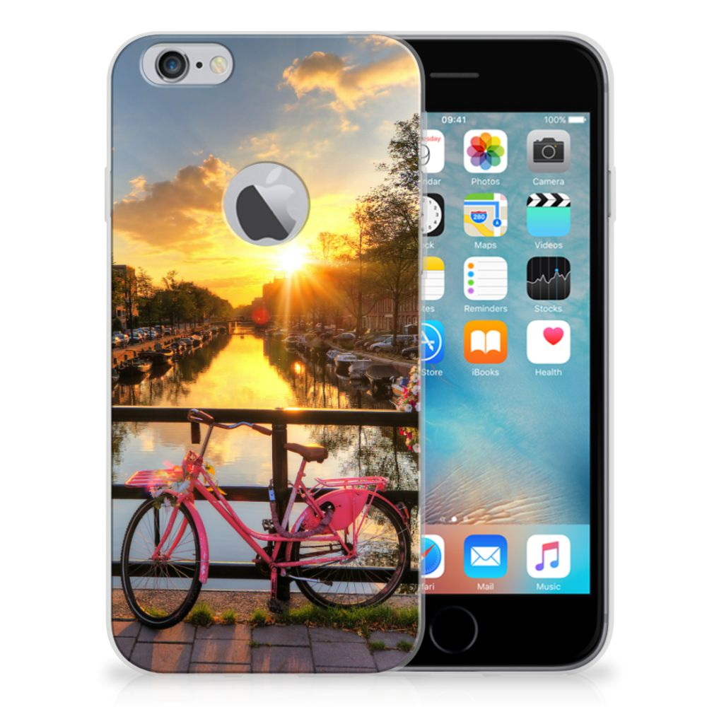 Apple iPhone 6 Plus | 6s Plus Siliconen Back Cover Amsterdamse Grachten
