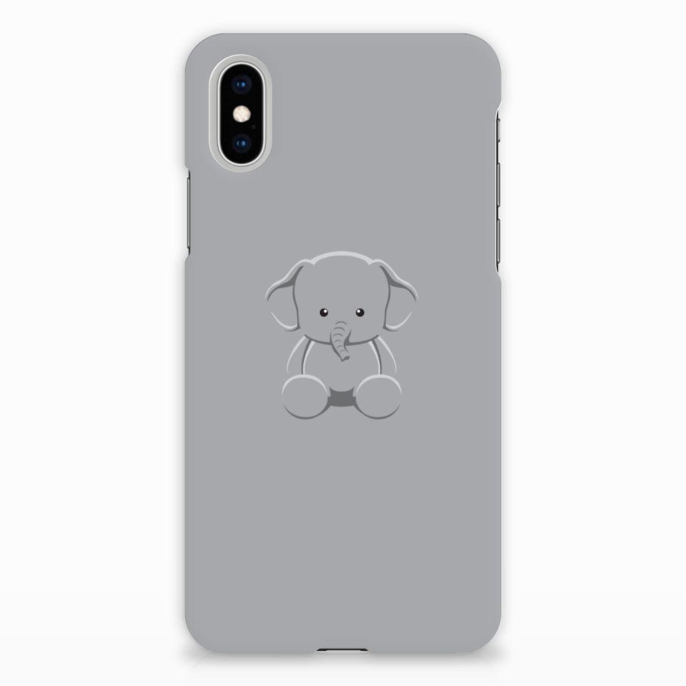 Apple iPhone X | Xs Uniek Hardcase Hoesje Baby Olifant