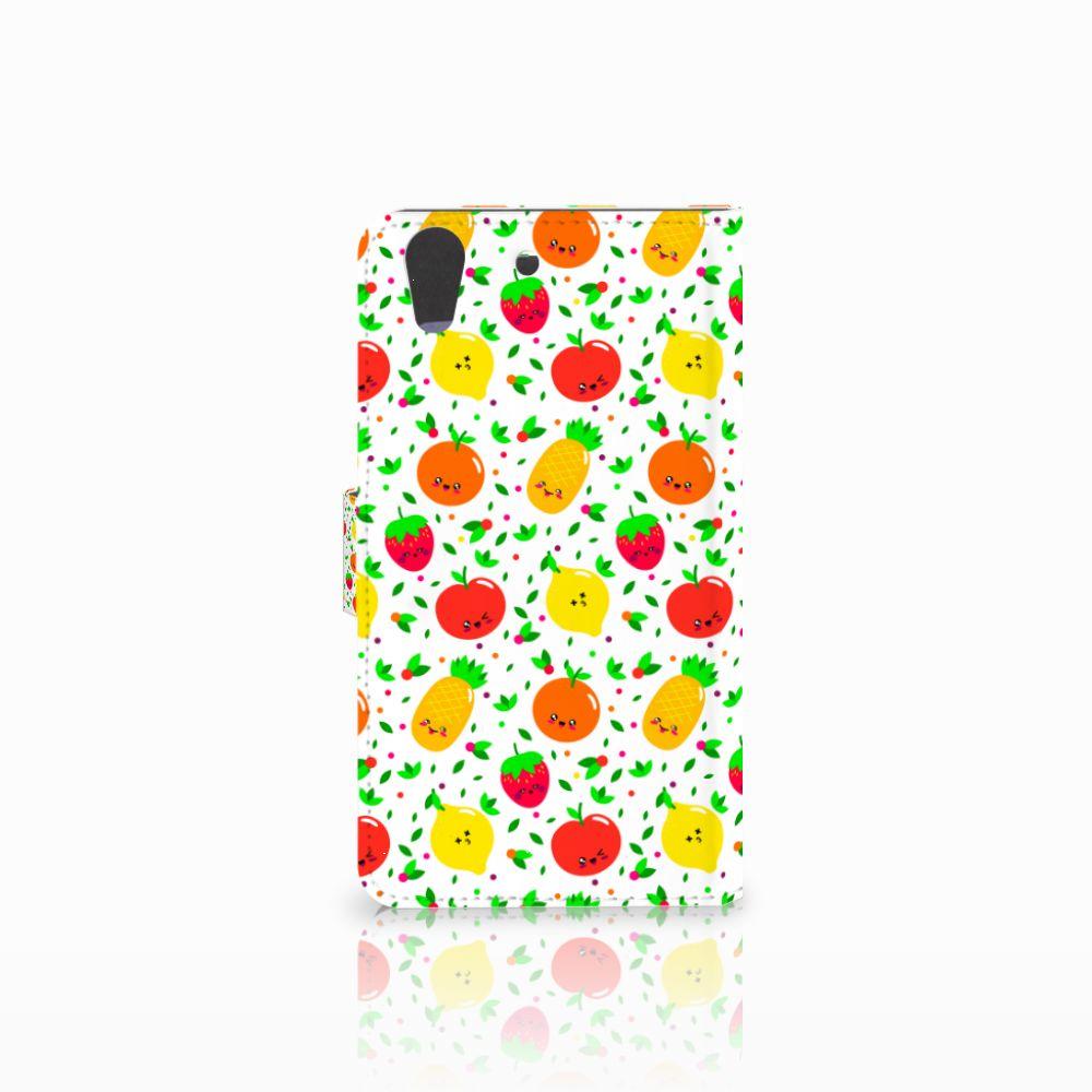Huawei Y6 II | Honor 5A Book Cover Fruits