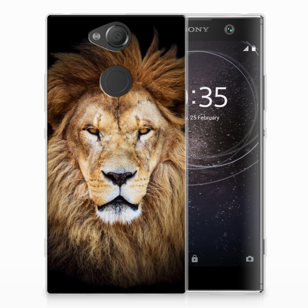 Sony Xperia XA2 TPU Hoesje Leeuw