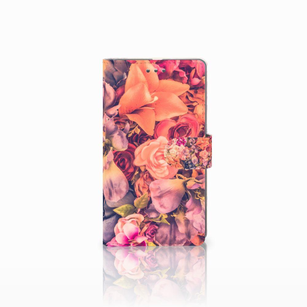 Microsoft Lumia 950 XL Boekhoesje Design Bosje Bloemen