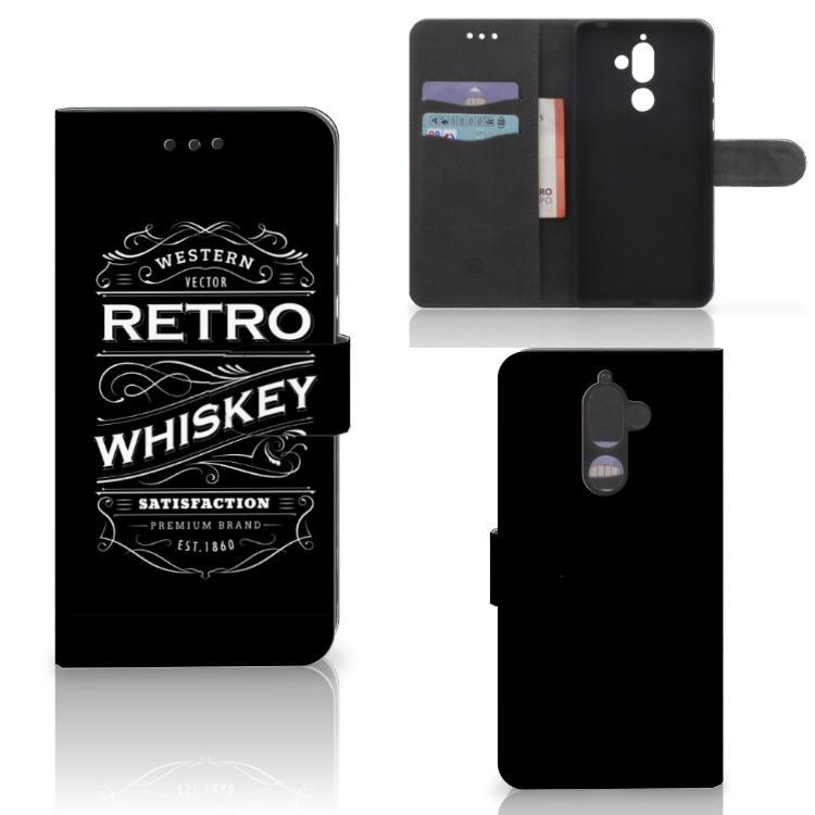 Nokia 7 Plus Book Cover Whiskey