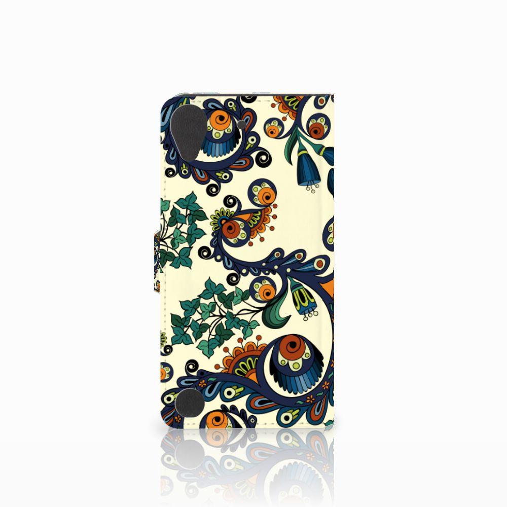 Wallet Case HTC Desire 530 Barok Flower