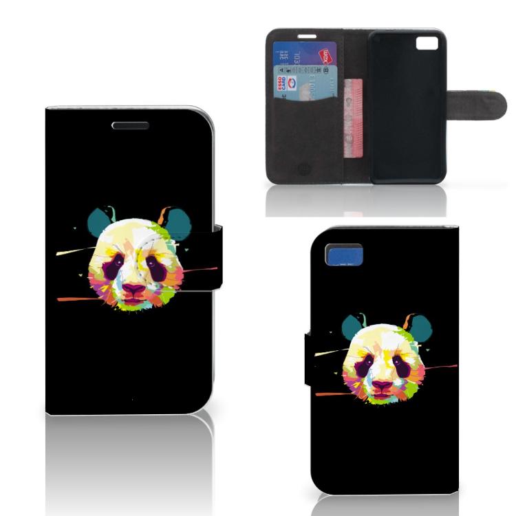 Blackberry Z10 Leuke Hoesje Panda Color