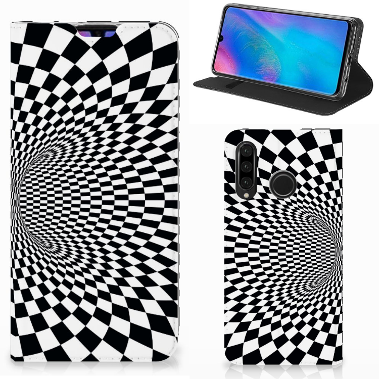 Huawei P30 Lite New Edition Stand Case Illusie