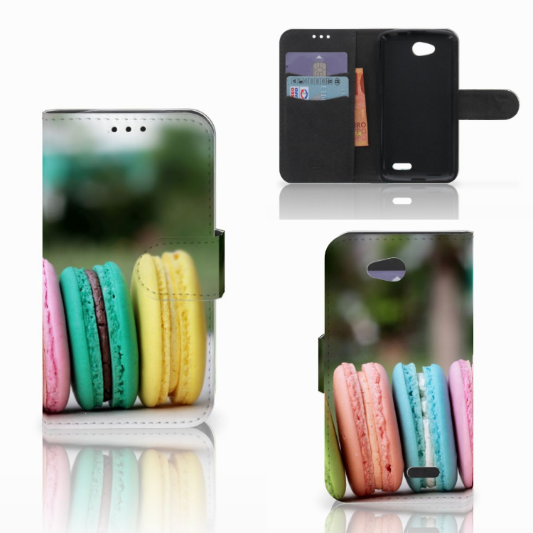 LG L90 Book Cover Macarons