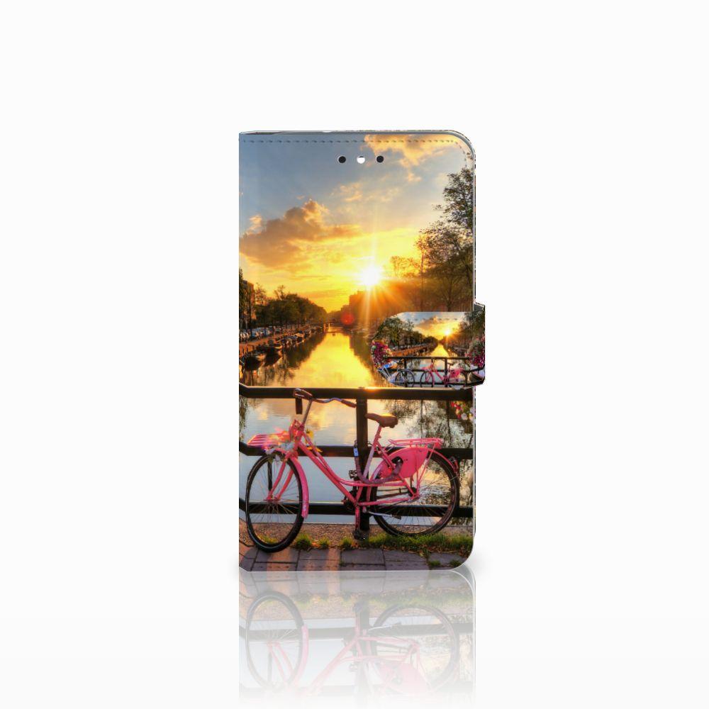 Motorola Moto G4 | G4 Plus Uniek Boekhoesje Amsterdamse Grachten