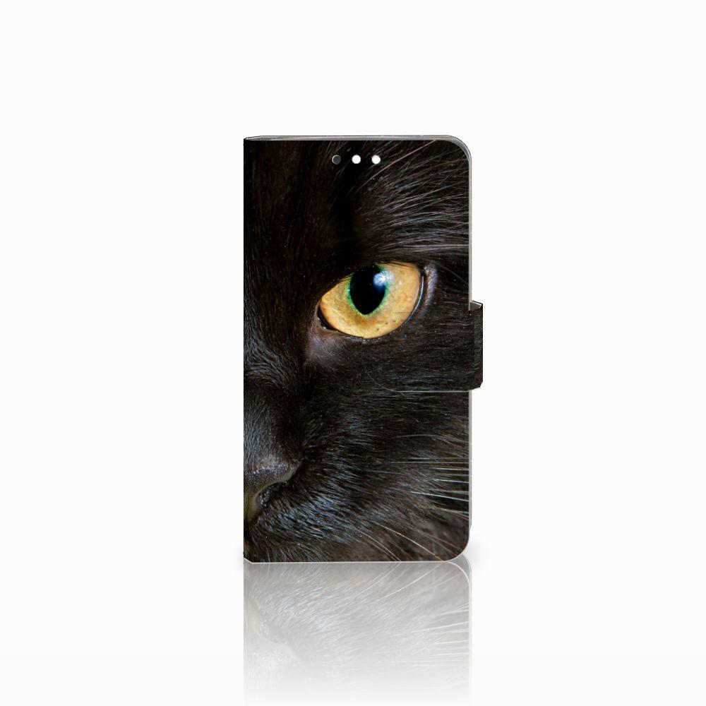 Nokia 8 Sirocco | Nokia 9 Uniek Boekhoesje Zwarte Kat