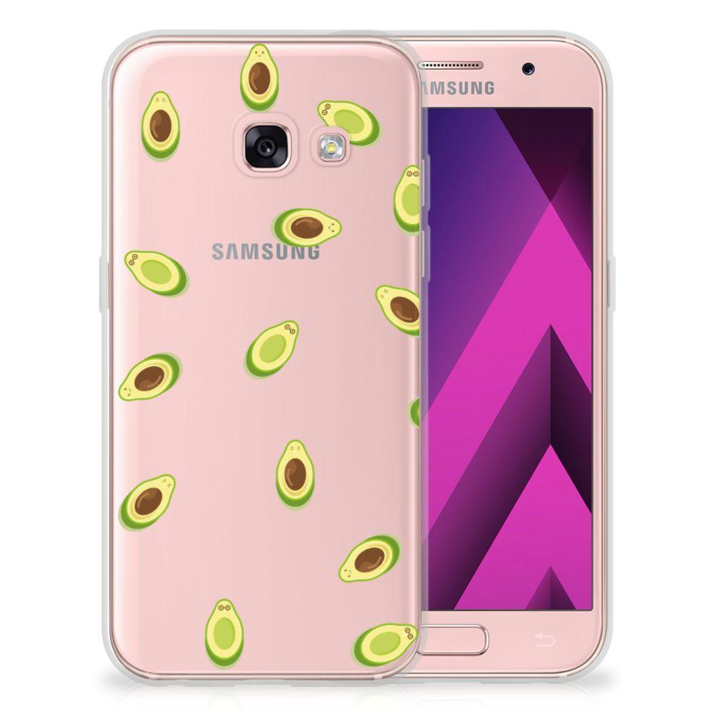 Samsung Galaxy A3 2017 Siliconen Case Avocado