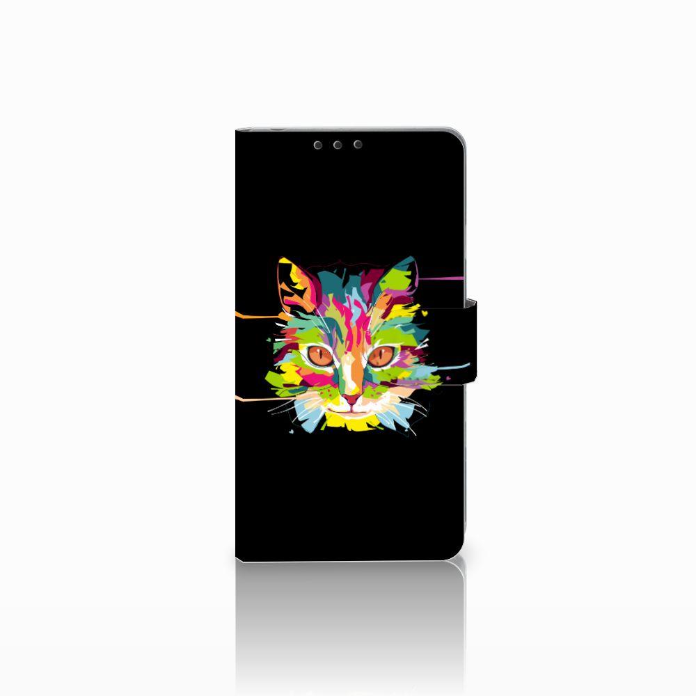 Sony Xperia Z1 Uniek Boekhoesje Cat Color