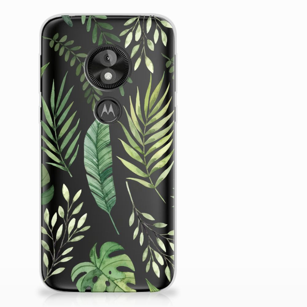 Motorola Moto E5 Play TPU Case Leaves