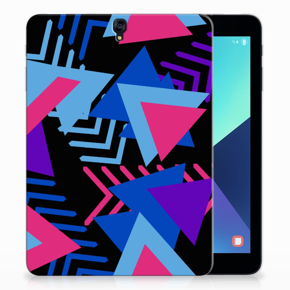 Samsung Galaxy Tab S3 9.7 Back Cover Funky Triangle
